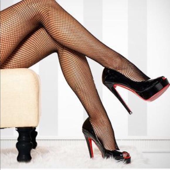 12c403e4fd98b Music Legs Accessories | Backseam Fishnet Stockings Nylon Pantyhose ...